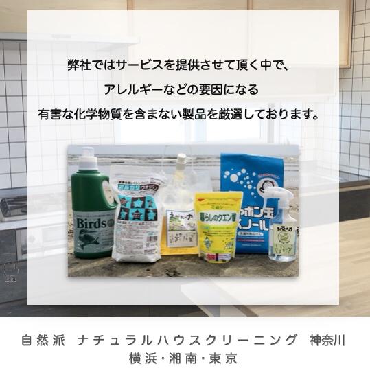 自然派 ナチュラルハウスクリーニング 神奈川 / 横浜 湘南 東京